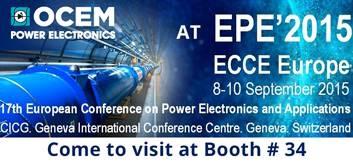 OCEM Power Electronics at EPE 2015